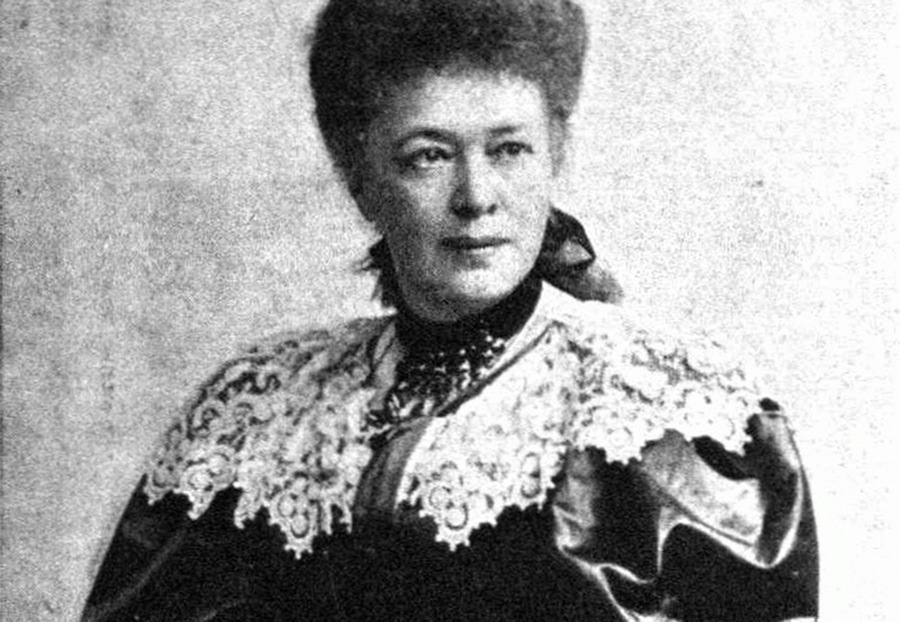 La baronesa Bertha Von Suttner, ganadora del primer Premio Nobel de la Paz