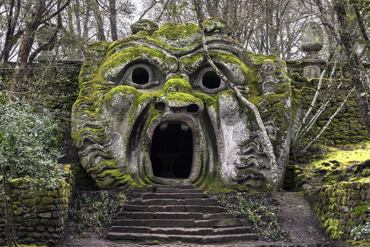 Οι τρομακτικές μορφές του Parco dei mostri
