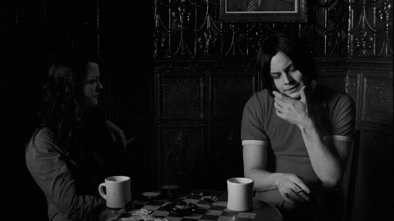 Jack White in Coffee & Cigarettes di Jim Jarmusch