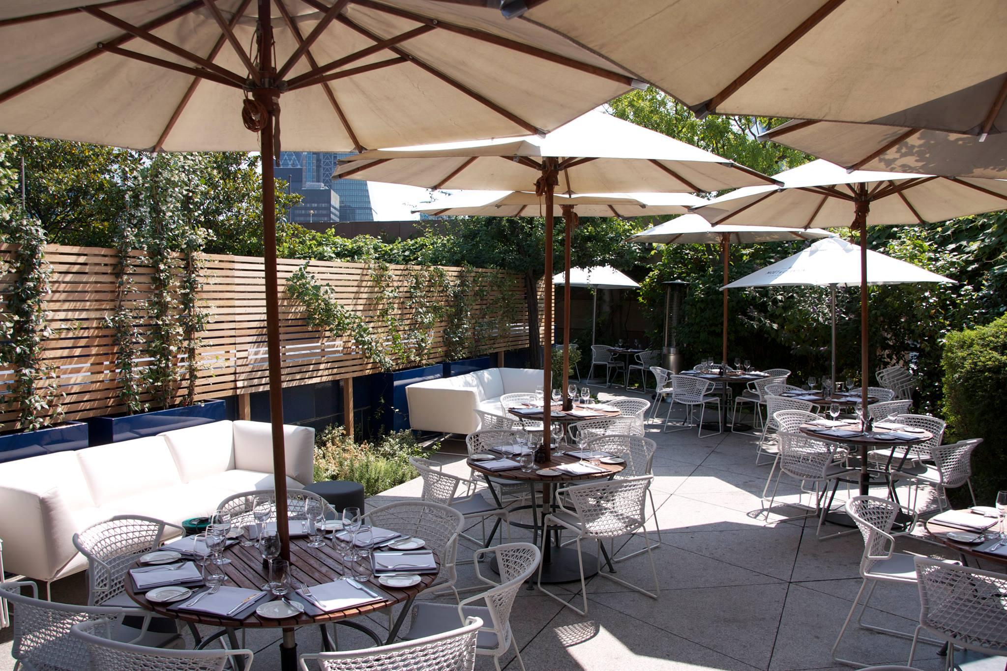 Restauranten og baren Coq d'Argent