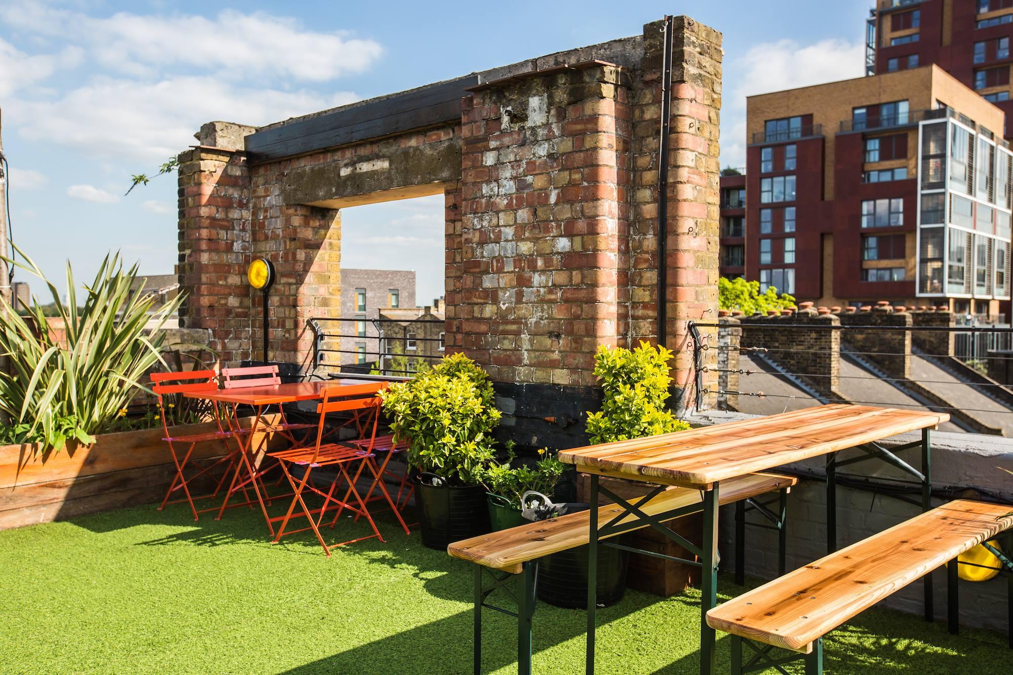 Bar med terrasse Dalston Roof Park