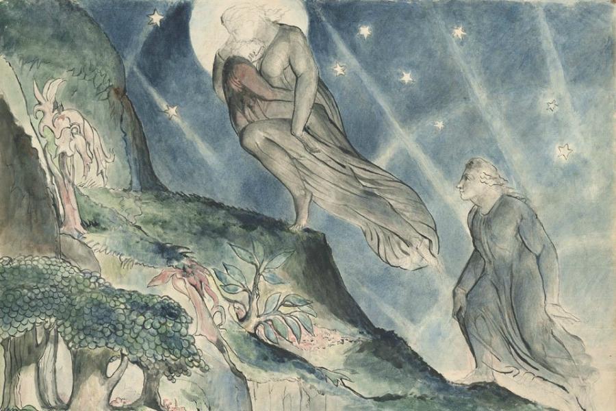 جنة الكوميديا الإلهية بقلم ويليام بليك