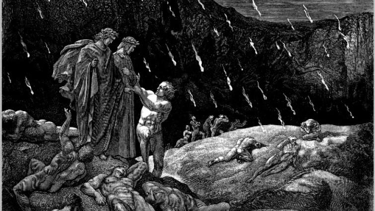 Inferno de la Divina Comedia de Gustave Doré