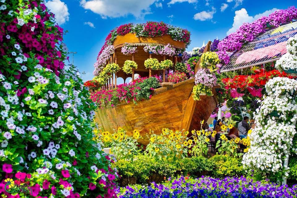 Ο μεγαλύτερος κήπος στον κόσμο είναι το Dubai Miracle Garden