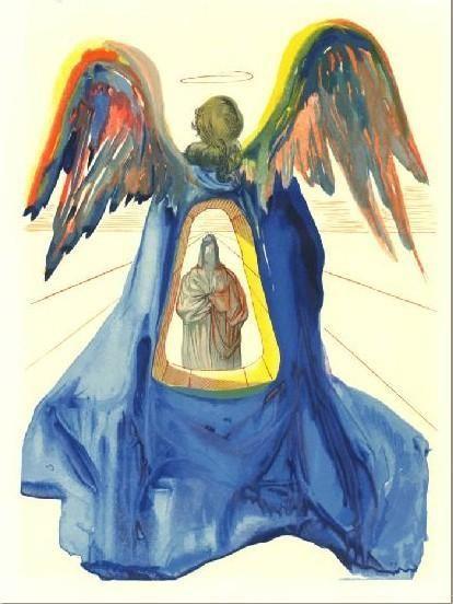 الكوميديا الإلهية التي كتبها دانتي أليغيري لسلفادور دالي