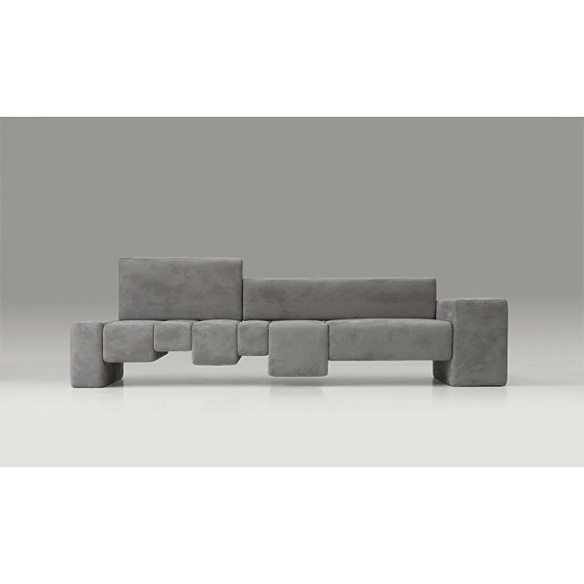 Fifth Avenue Sofa de Dima Loginoff, inspirado en el viejo Manhattan