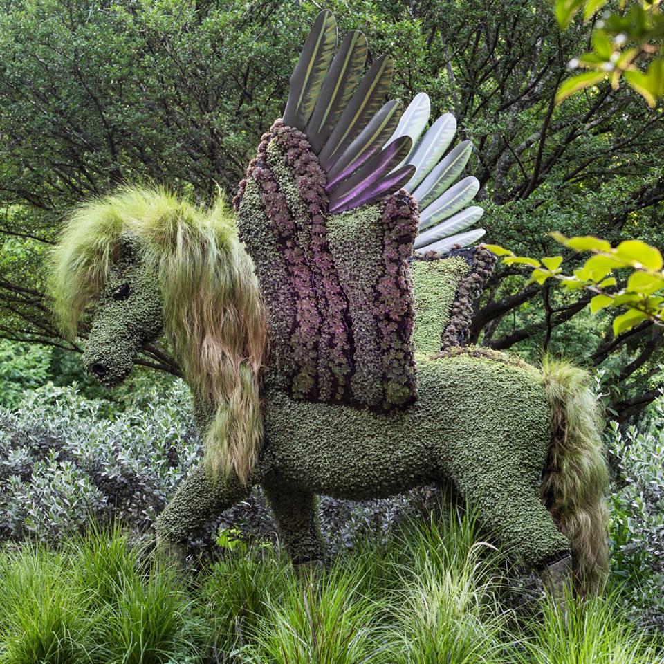 Πήγασος στον Βοτανικό Κήπο της Ατλάντα