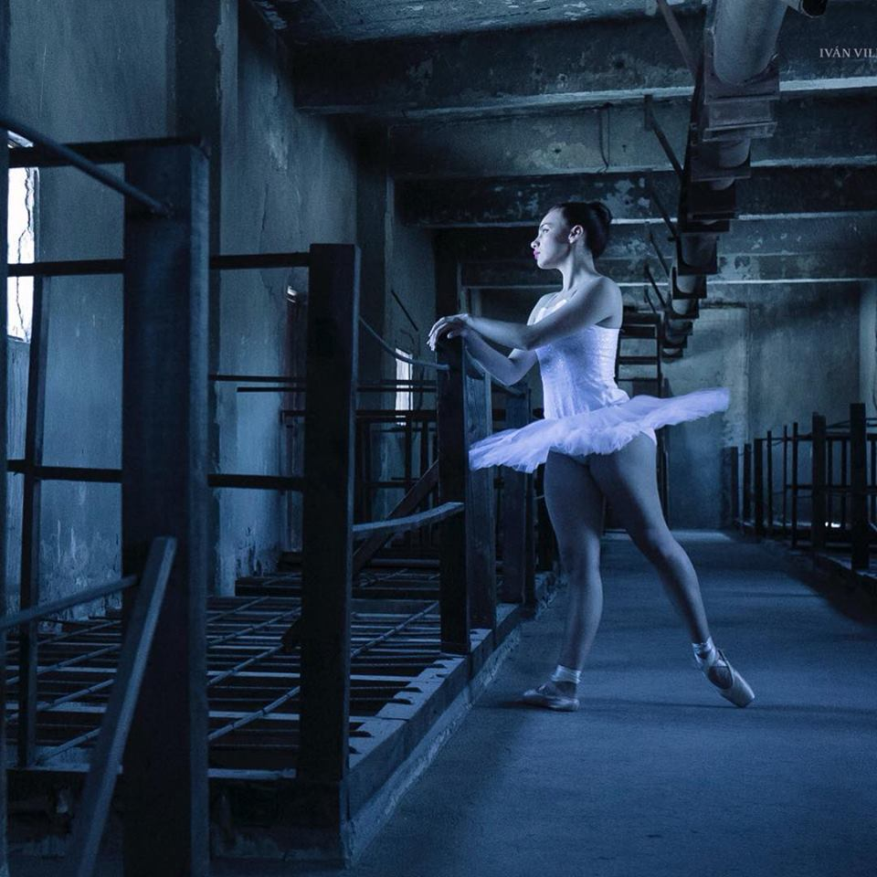 芭蕾舞演员伊万villagrana