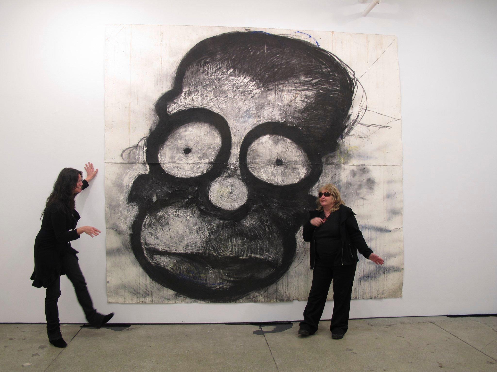 Joyce Pensato se identificó con el expresionismo alemán