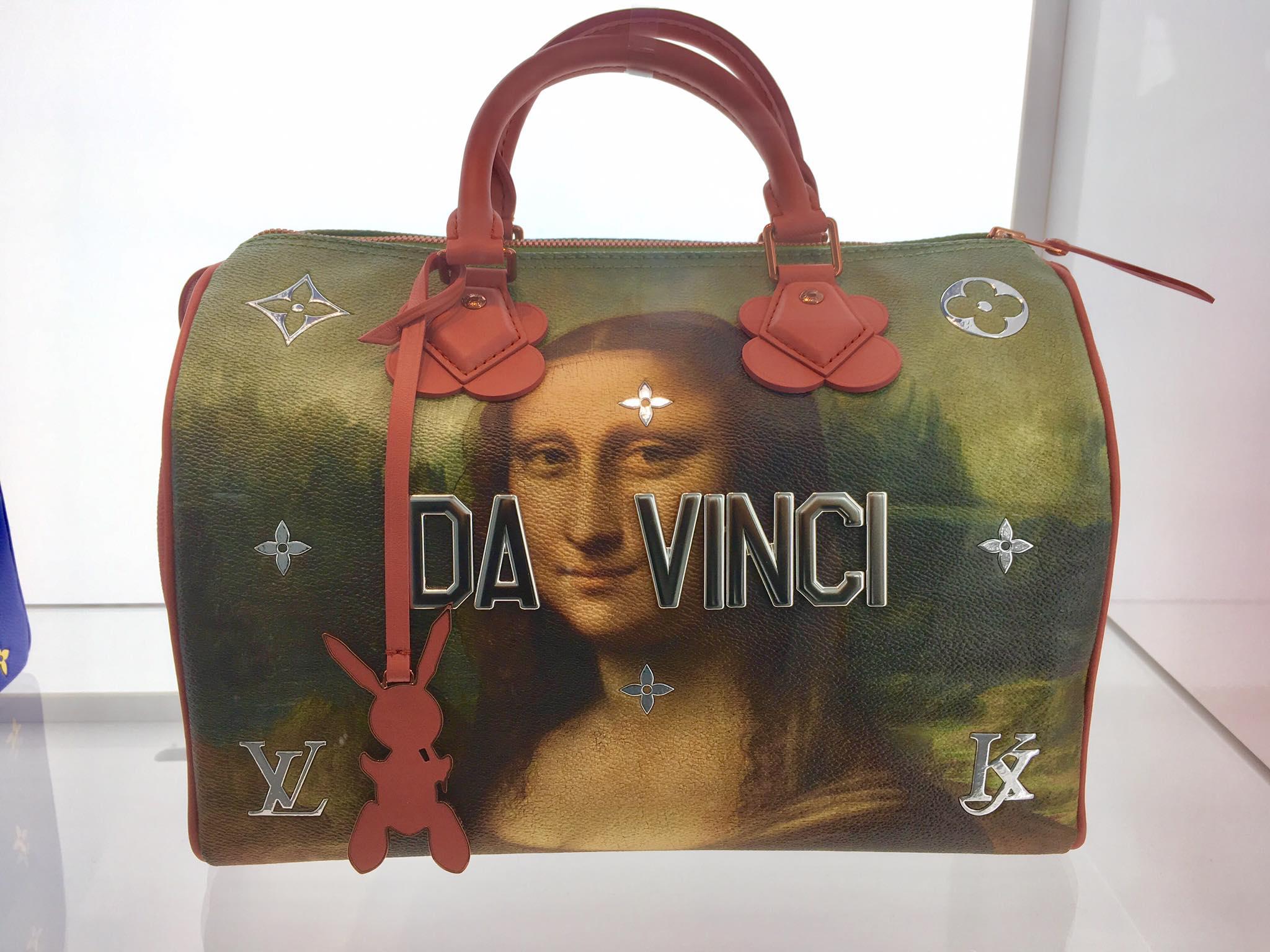 Louis Vuitton Time Bag Capsule Mona Lisa