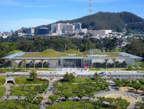 أكثر الممتلكات خضرة في العالم: أكاديمية كاليفورنيا للعلوم