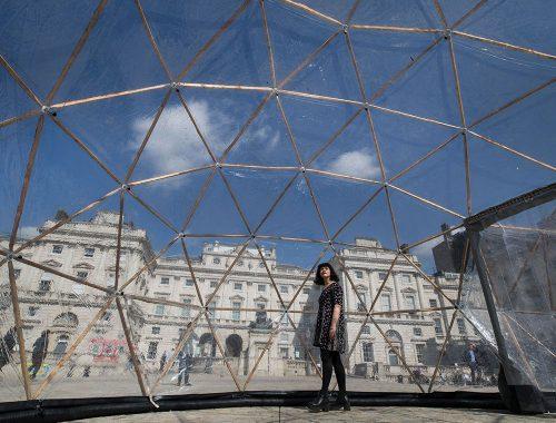 Pollution Pods muestra itinerante de Michael Pinsky
