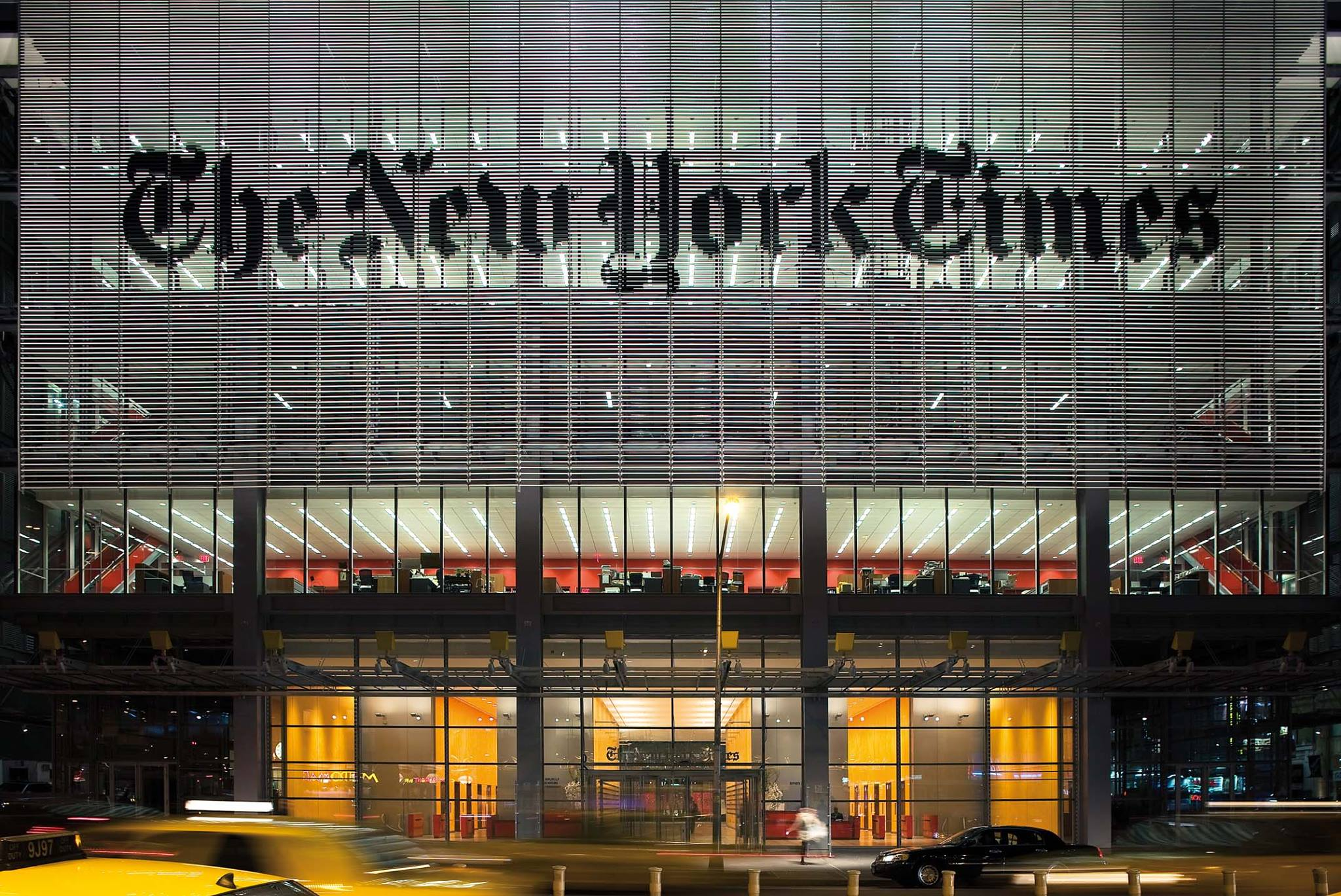 L'edificio del New York Times