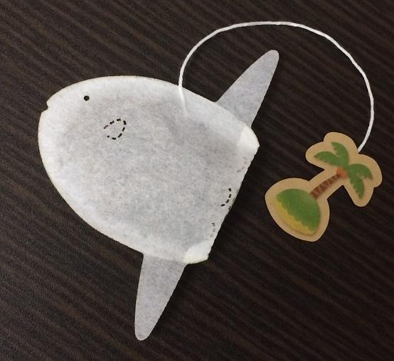 La vida marina ha inspirado a Ocean Tea Bag