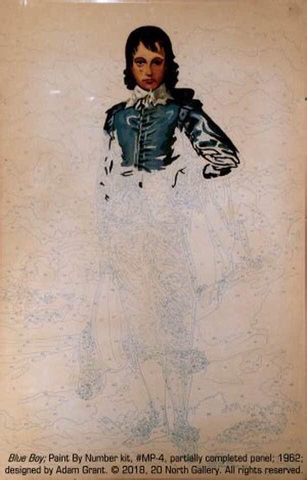 Blue Boy, pintura por números de Dan Robbins