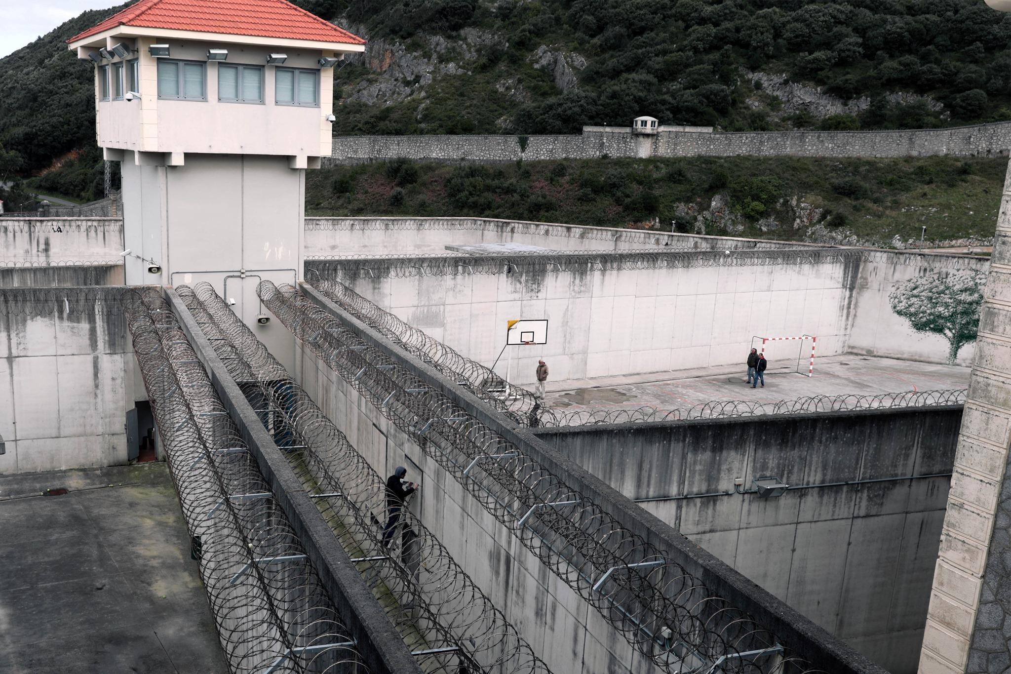 Centro penitenziario dell'artista El Dueso Pejac