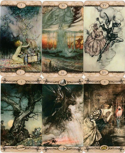 Tarot Arthur Rackham