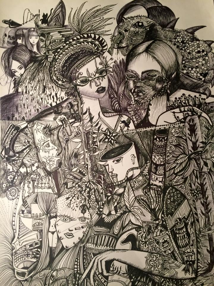 로미 Triay 삽화