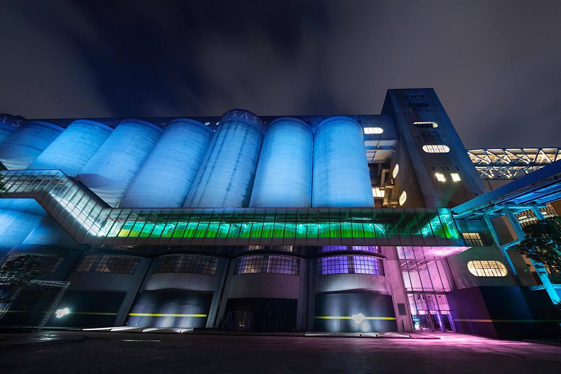 Silo Hall-bygningen ble designet av det nederlandske studio AMO