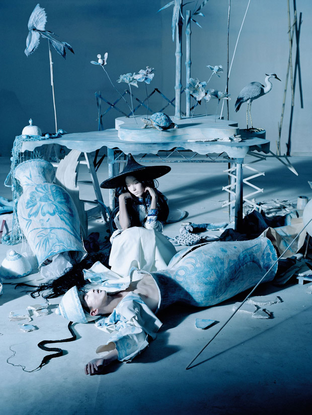 Portada para Vogue de Tim Walker