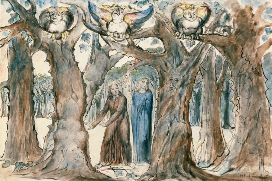 La Divina Comedia de William Blake