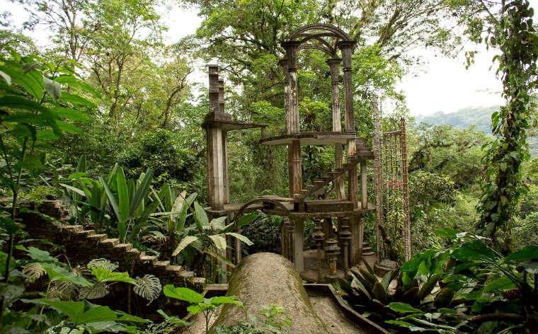 Il giardino surreale di Edward James a Xilitla