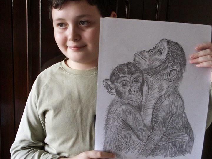 Dusan Krtolica tekent met ongelooflijke details