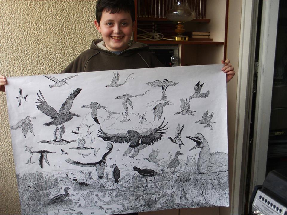 Dusan Krtolica is al op jonge leeftijd auteur van een encyclopedie