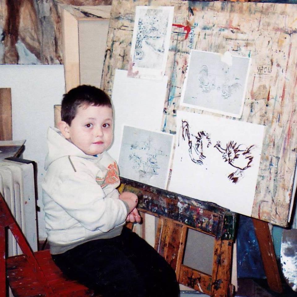 Van een heel jonge Dusan ontdekte Krtolica zijn passie