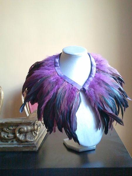 Las plumas en la moda va y viene pero permanece