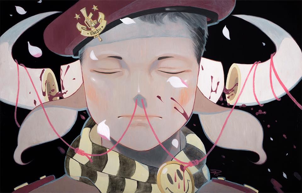 Símbolos en las ilustraciones de Pruch Sintunava