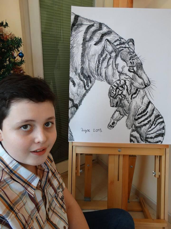 Dusan Krtolica, de kunstenaar uit Belgrado