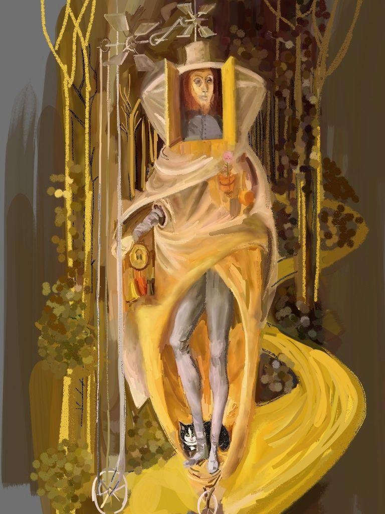 תיקון Varo vagabond ציור