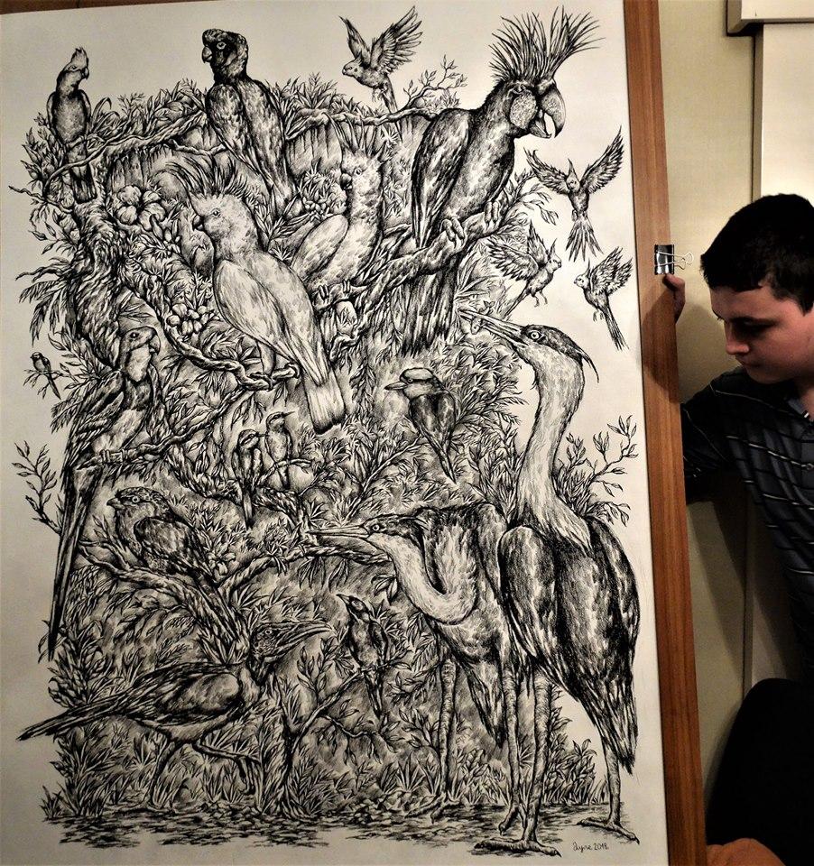 Een deel van het werk van Dusan Krtolica is al te koop