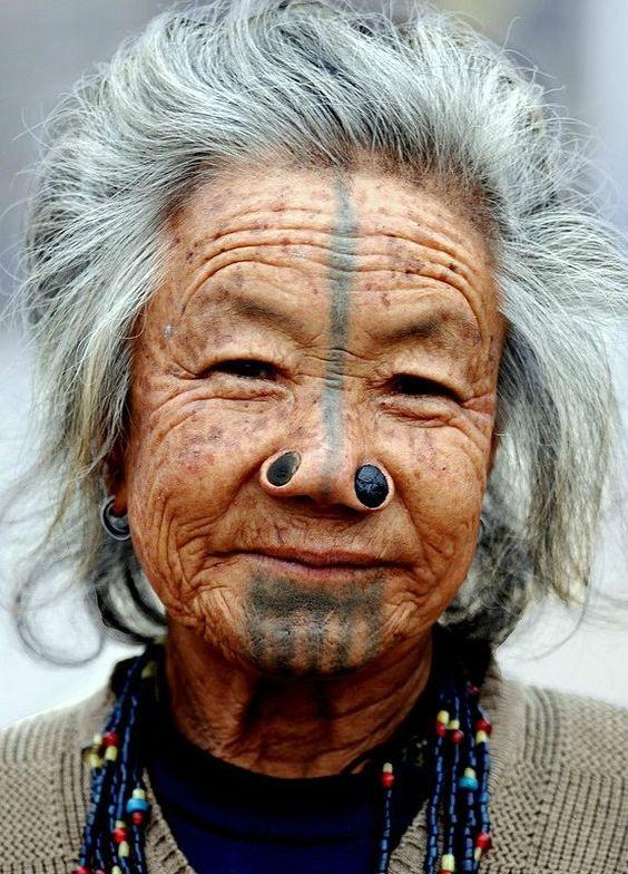 Tatuajes en el rostro