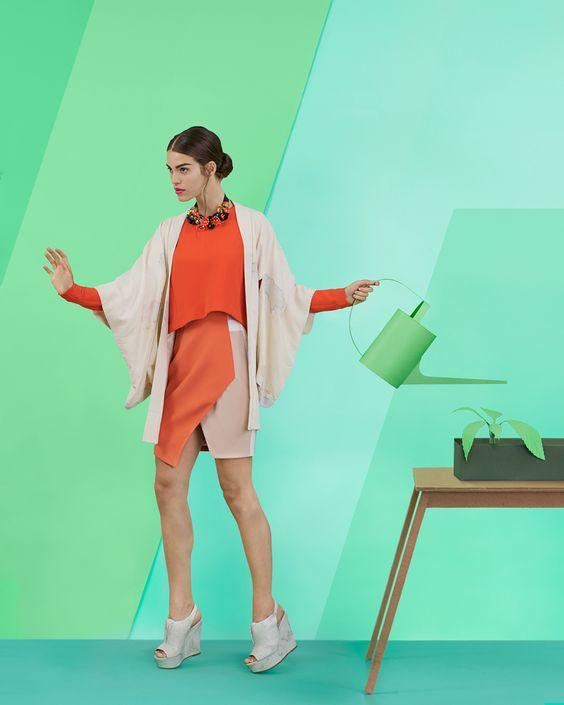 Mode gespeeld door Kristina Varaksina