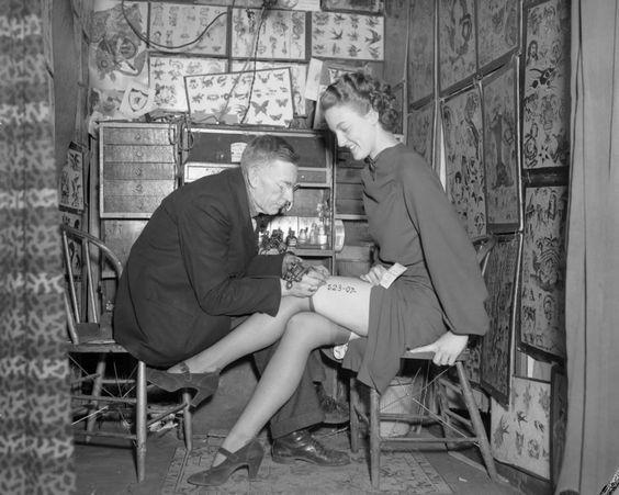 Los primeros estudios de tatuaje