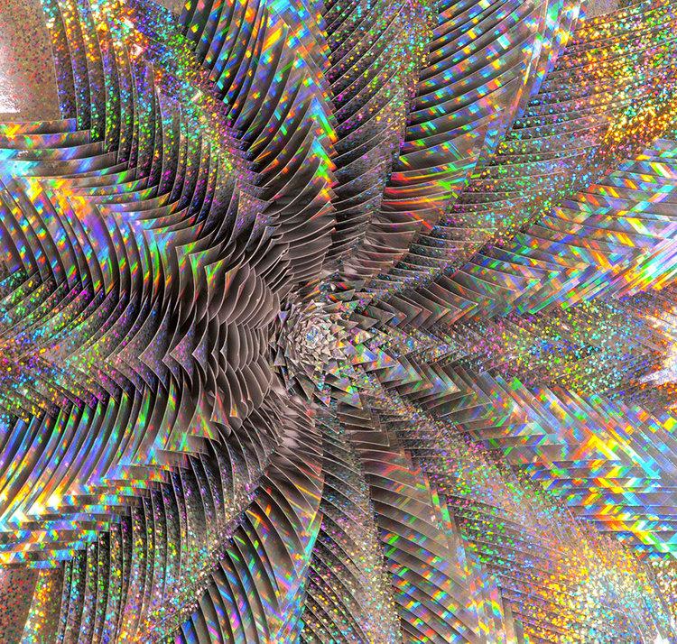 Spettro Olografico di Jen Stark
