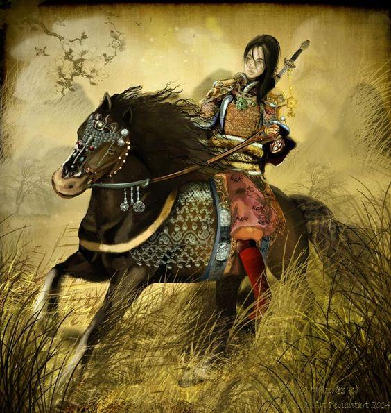 Hua Mulan Chińska Legenda Która Przeważa Z Czasem