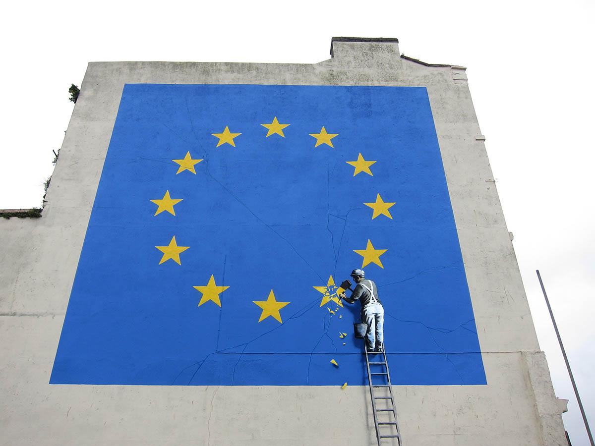 Banksy toma ciudades como lienzo