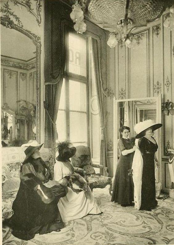 La moda comenzó su andar en el siglo XIX