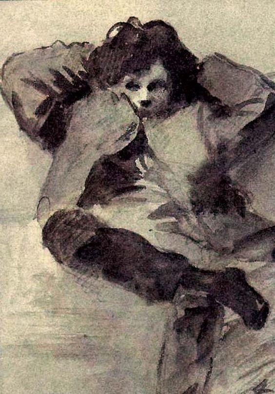 Arthur Rimbaud door Jean Louis Forain en1872