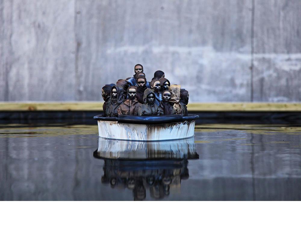 Temas sociales son un eje en el trabajo de Banksy