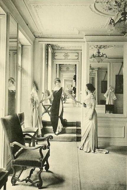 Las primeras casas de moda tenían un encanto especial