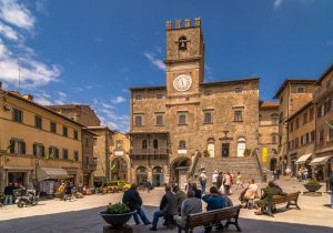 Cortona in Toscane