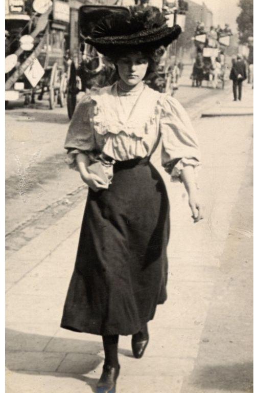 La moda logró reflejar en gran medida la personalidad de una mujer