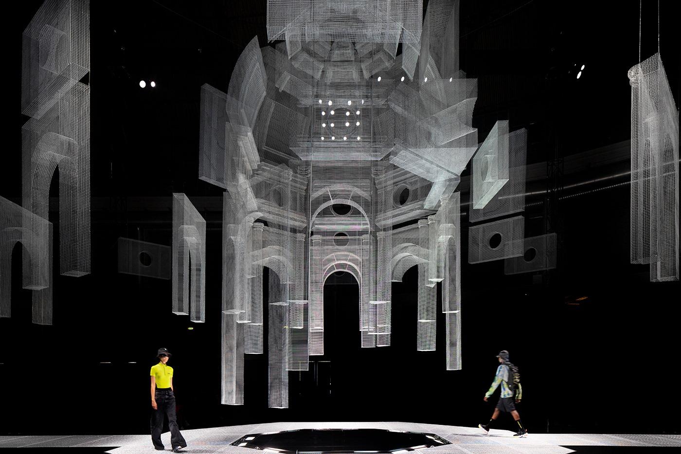 Le strutture tridimensionali di Edoardo Tresoldi
