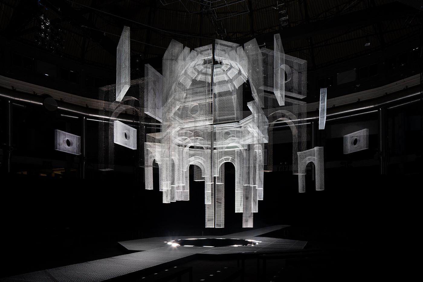 Le fantastiche maglie tridimensionali di Edoardo Tresoldi