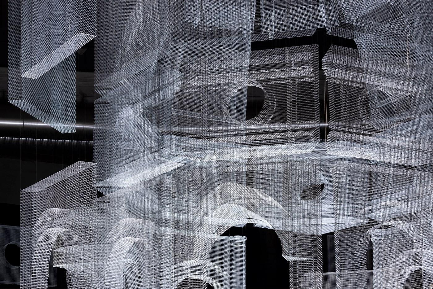 Il bel lavoro dell'artista Edoardo Tresoldi