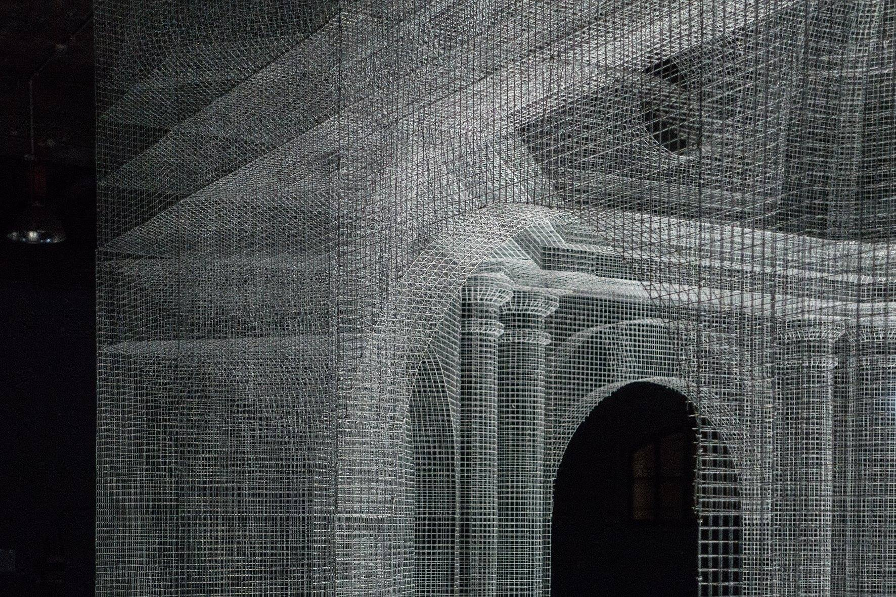 Edoardo Tresoldi op de Milan Fashion Week